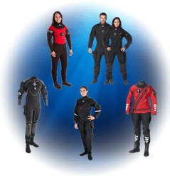 Scuba Diving Drysuits