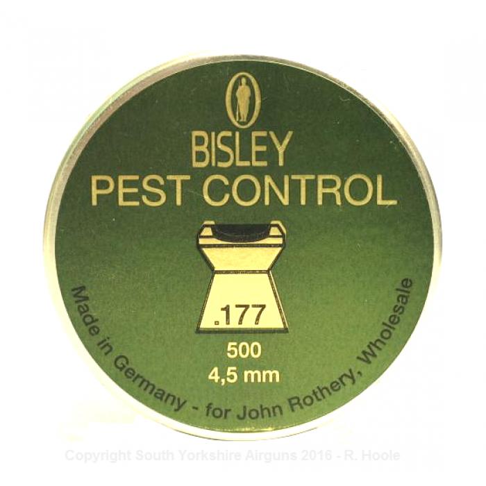 Pest Control In Boutte Mail: Bisley Pest Control Pellets (.177 Caliber)