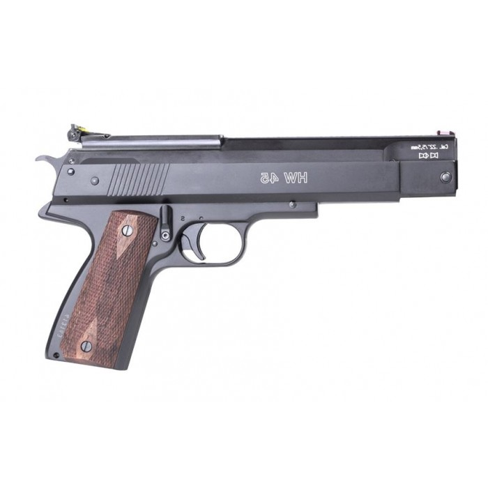 Weihrauch HW45 Spring Air Pistol - Walnut Grips - South