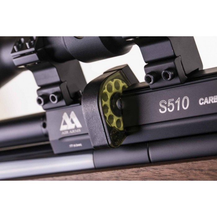 Air Arms S510 Carbine Precharged PCP Air Rifle - Walnut