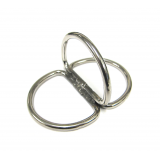 Stainless Steel SDS Triple D-Ring Billy Ring