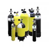 Cylinder Filling, Air Fills, Nitrox, Trimix, 02