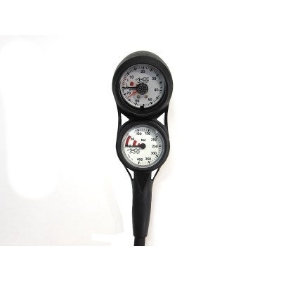 MDE Mini Triple Pressure, Depth & Compass Gauge Counsole
