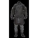Ursuit Black Softdura FZ Front Zip Drysuit