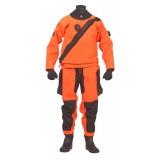 Ursuit Orange Softdura FZ Front Zip Drysuit