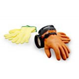 DUI Maximum Dexterity Dry Zipgloves (Orange)