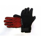 Typhoon Divers II 3mm Red/Black Neoprene Gloves