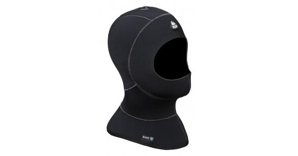 Waterproof H1 3//5mm Bibbed Vented Diving Hood