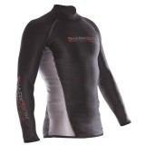 Sharkskin Mens Long Sleeve Rash Guard Top