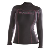 Sharkskin Womens Long Sleeve Rash Guard Top