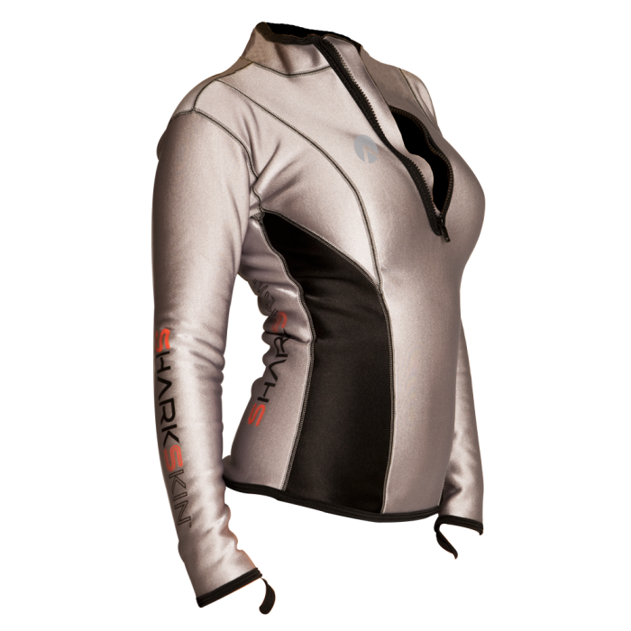 977e9fbcc0d63 Sharkskin Climate Control Long Sleeve Womens Rash Guard Top - Scuba Diving  Superstore