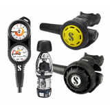 Scubapro MK2 EVO/R195 Regulator, R095 Octopus & Double Gauge Set