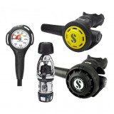 Scubapro MK2 EVO/R195 Regulator, R095 Octopus & SPG Set