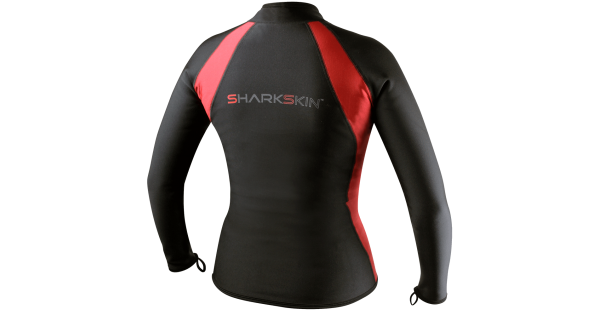 ad1508c1613ae Sharkskin Chillproof Long Sleeve Full Zip Womens Top - Scuba Diving  Superstore
