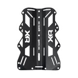 Mares XR 3mm Black Aluminum Backplate