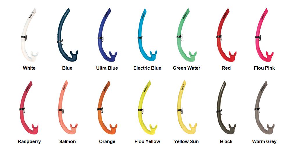 Blue BEUCHAT Spy Snorkel Select Color