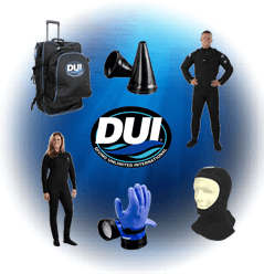 Scuba Diving DUI Drysuit Products